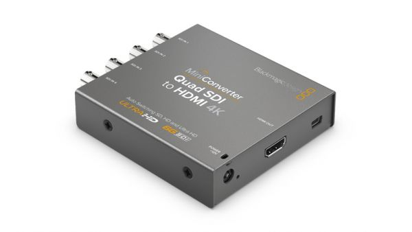 Blackmagic Mini Converter Quad SDI-HDMI 4K