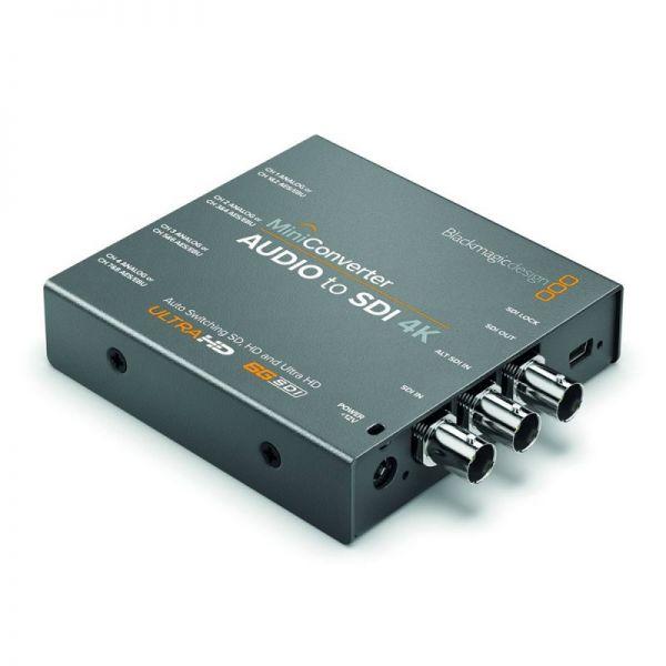 Blackmagic Mini Converter Audio-SDI 4K
