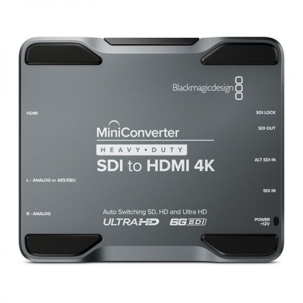 Blackmagic Mini Converter Heavy Duty SDI-HDMI 4K