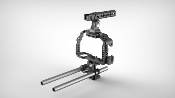 8Sinn a7S/a7R Cage + Top Handle Pro + Universal Rod Support