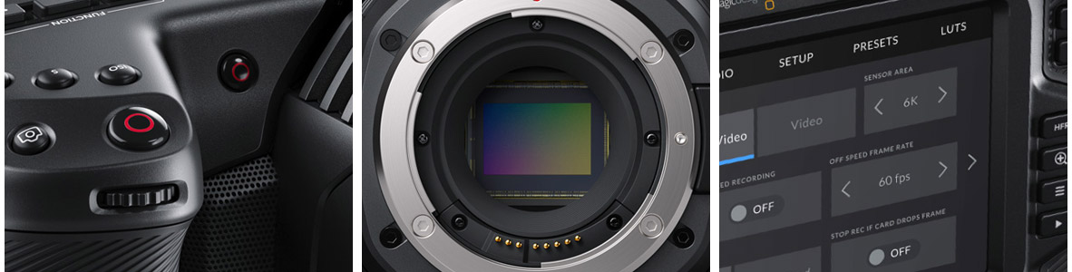 Blackmagic Pocket Cinema Camera 6K Design