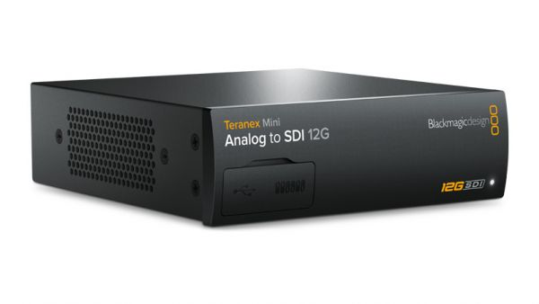 Blackmagic Teranex Mini - Analog to SDI 12G