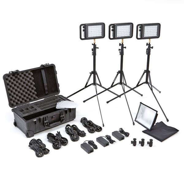 Litepanels Lykos+ BiColor Flight Kit