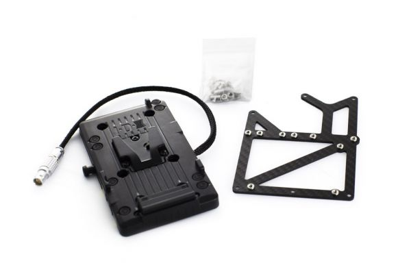 Carbon V-Lock Adapter Kit für RED EPIC