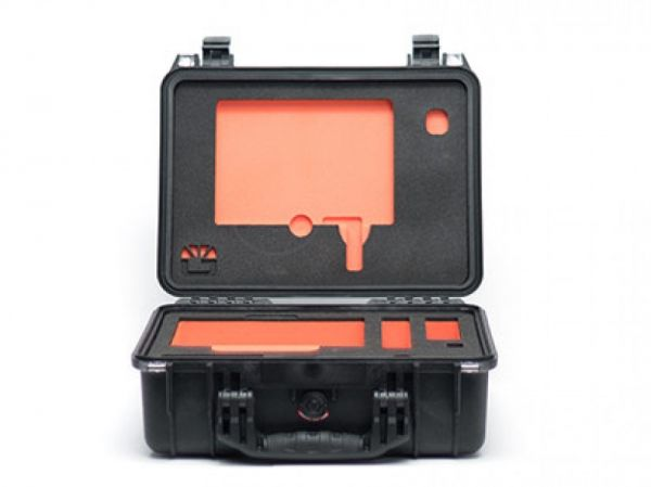 Bright Tangerine Misfit Atom Hard case