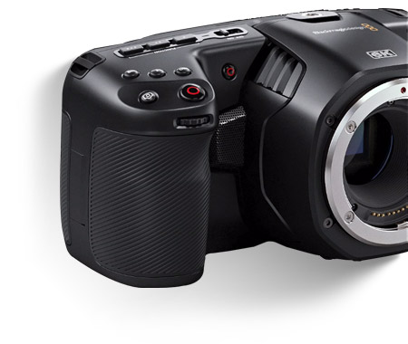 Blackmagic Pocket Cinema Camera 6K Side