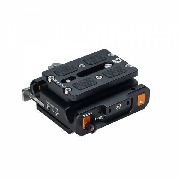 Bright Tangerine Canon C500 Mk II/C200/C700 Left Field QR Baseplate
