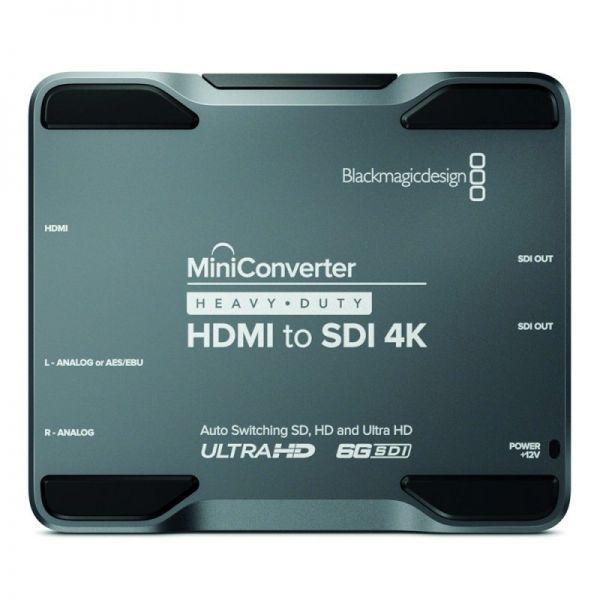 Blackmagic Mini Converter Heavy Duty HDMI-SDI 4K