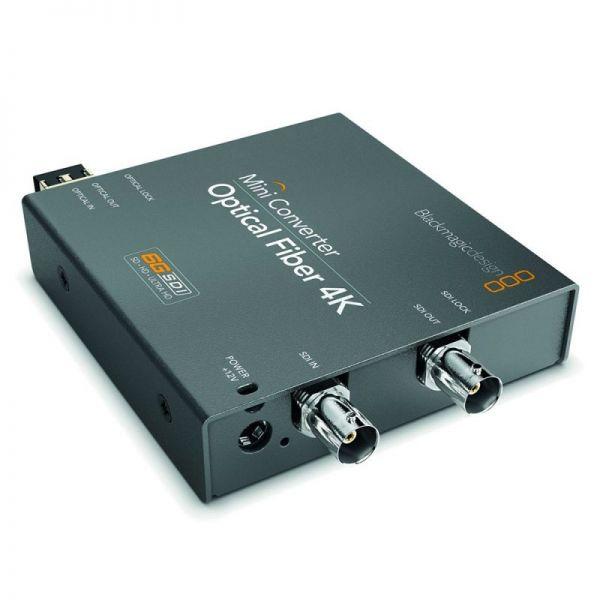 Blackmagic Mini Converter Optical Fiber 4K
