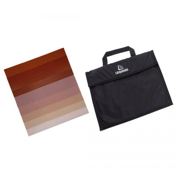 Litepanels Hilio D12 5-Piece CTO Gel Set with Gel Bag