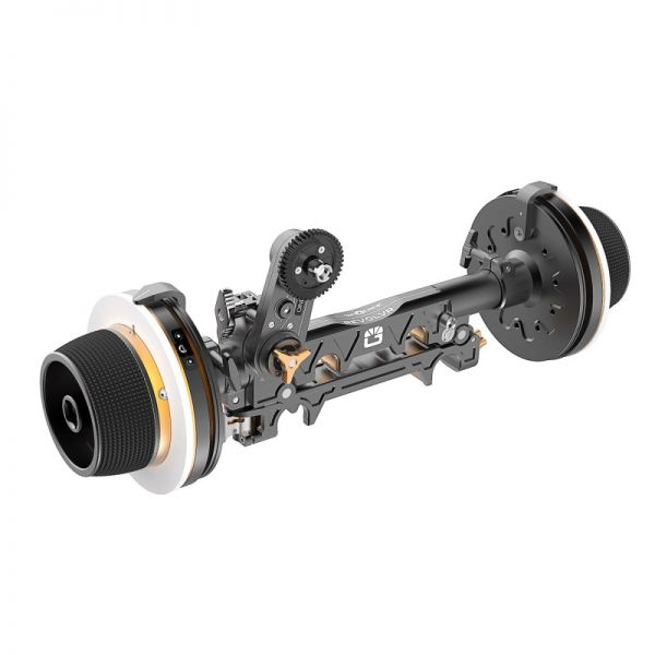 Bright Tangerine Revolvr Dual Sided 19mm Studio Kit