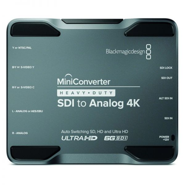 Blackmagic Mini Converter Heavy Duty SDI-Analog 4K