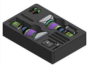 Premium Case Fujinon branded