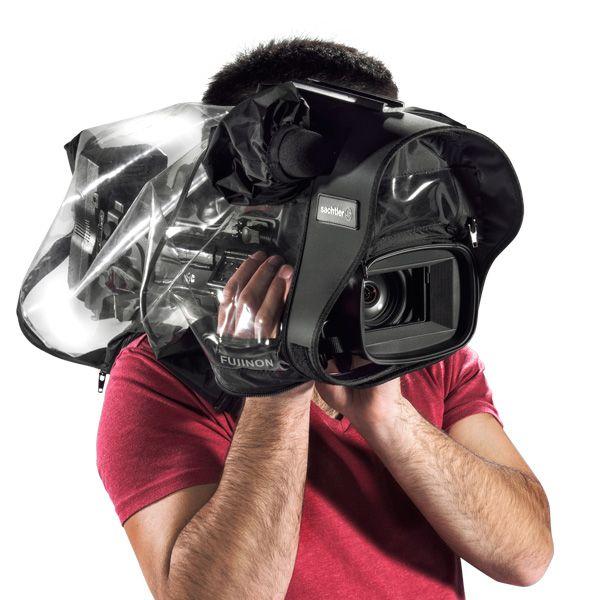Sachtler Transparentes Regencover für mittelgroße Videokameras