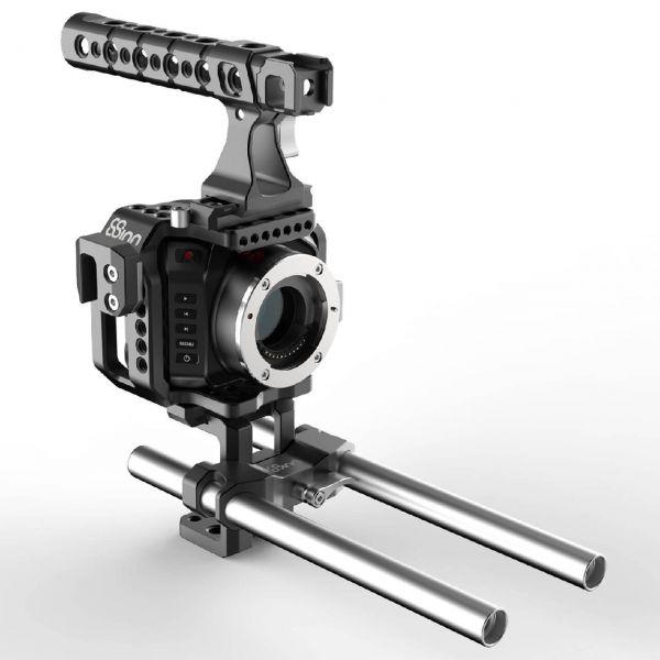 8Sinn BMCC Micro Cage + Top Handle Pro + Universal Rod Support